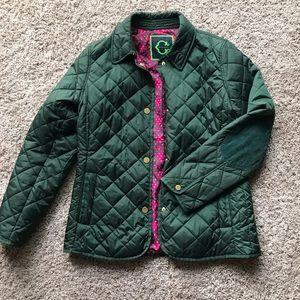 C Wonder Olive Green Coat